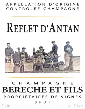 Champagne BERECHE & FILS: Cuvée REFLET D'ANTAN Extra Brut
