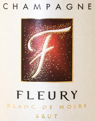 Champagne FLEURY: Cuvée BLANC DE NOIRS Brut