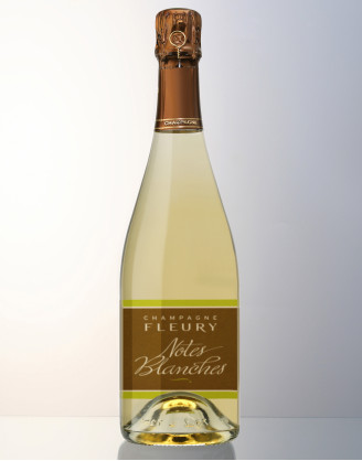 Champagne FLEURY: Cuvée NOTES BLANCHES Brut Nature
