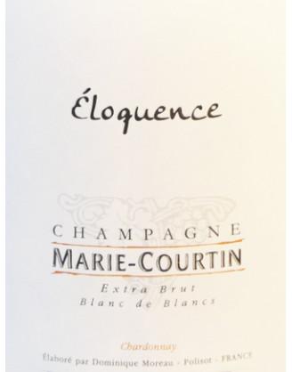 Champagne MARIE-COURTIN: Cuvée ÉLOQUENCE Blanc de Blancs Extra Brut