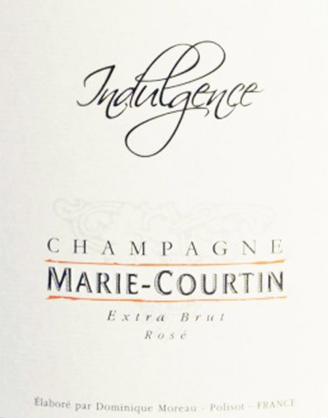 Champagne MARIE-COURTIN: Cuvée INDULGENCE ROSÉ Extra Brut