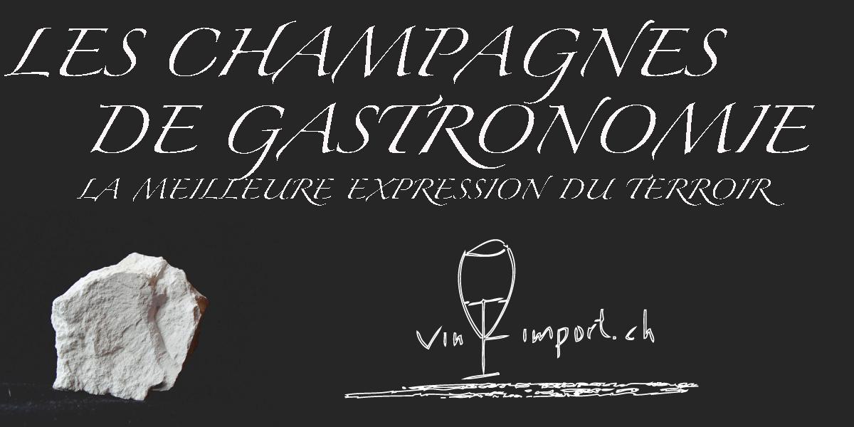 LES CHAMPAGNES DE GASTRONOMIE  /Vin-import.ch-Tzvetan Mihaylov/